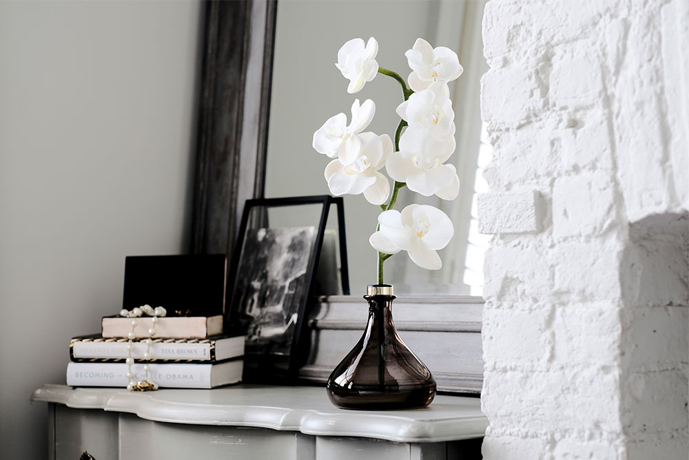 The Orchid on dressing table